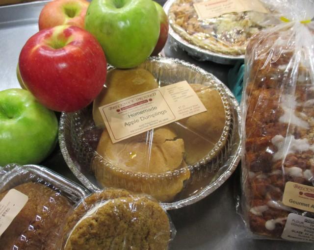 apple baked goods