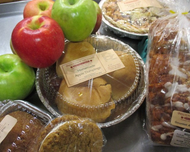 apple baked goods