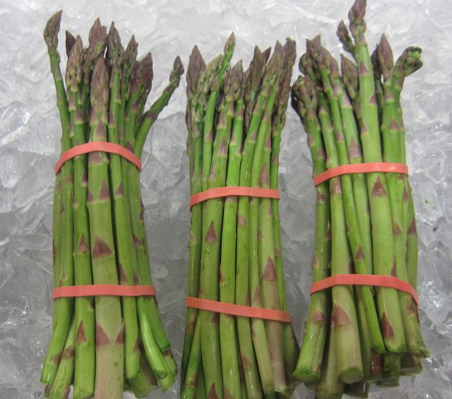 Asparagus, Radish, Cucumber Salad