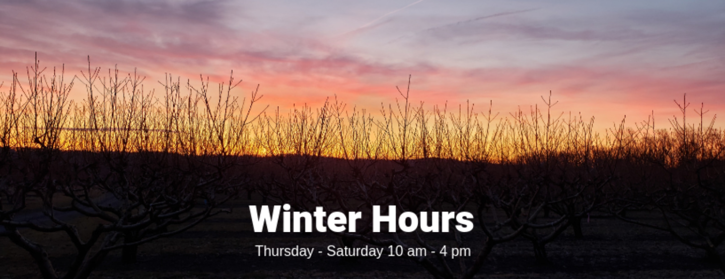 Winter Hours for Early Spring